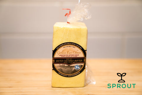 Grass-fed Cultured Butter - Salted - Sprout Farm Delivery