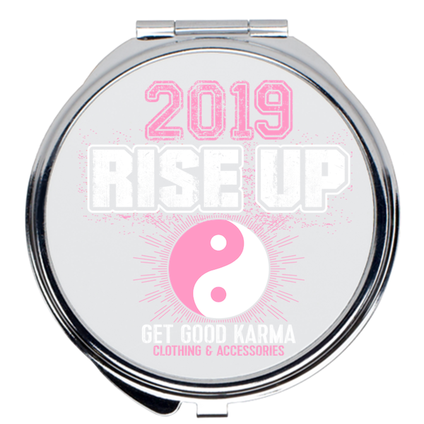 """2019 Rise Up"" Compact Mirror"