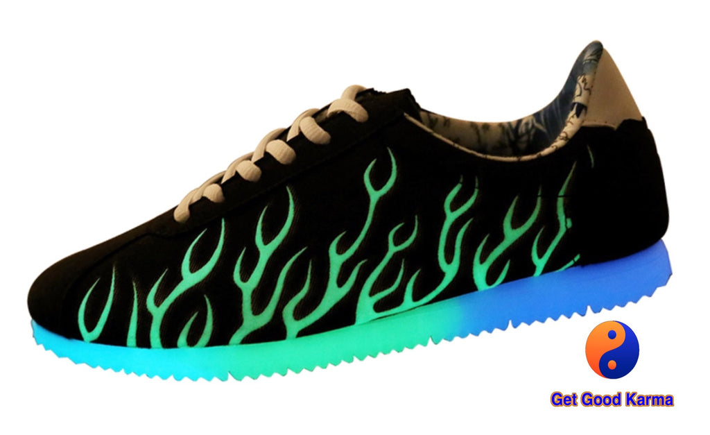 Italian LED Light Up Sneaker Shoe