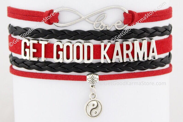 Get Good Karma Love Bracelet