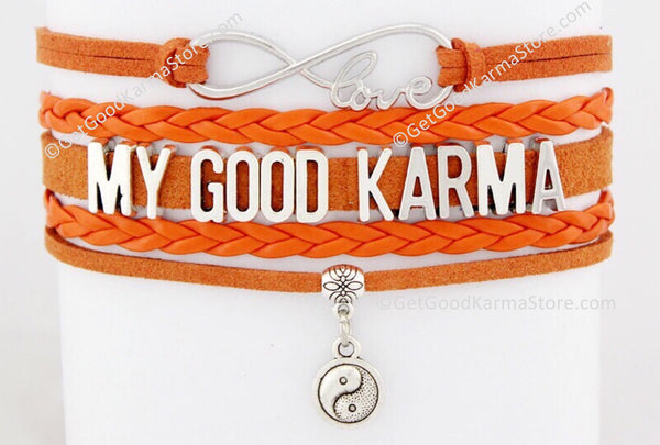 My Good Karma Love Bracelet