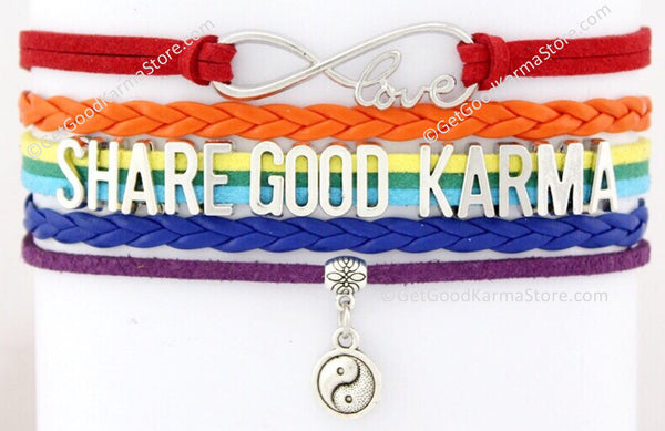 Share Good Karma Love Bracelet