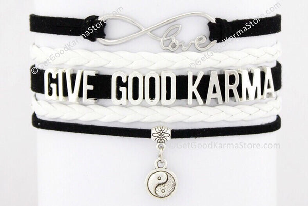Give Good Karma Love Bracelet