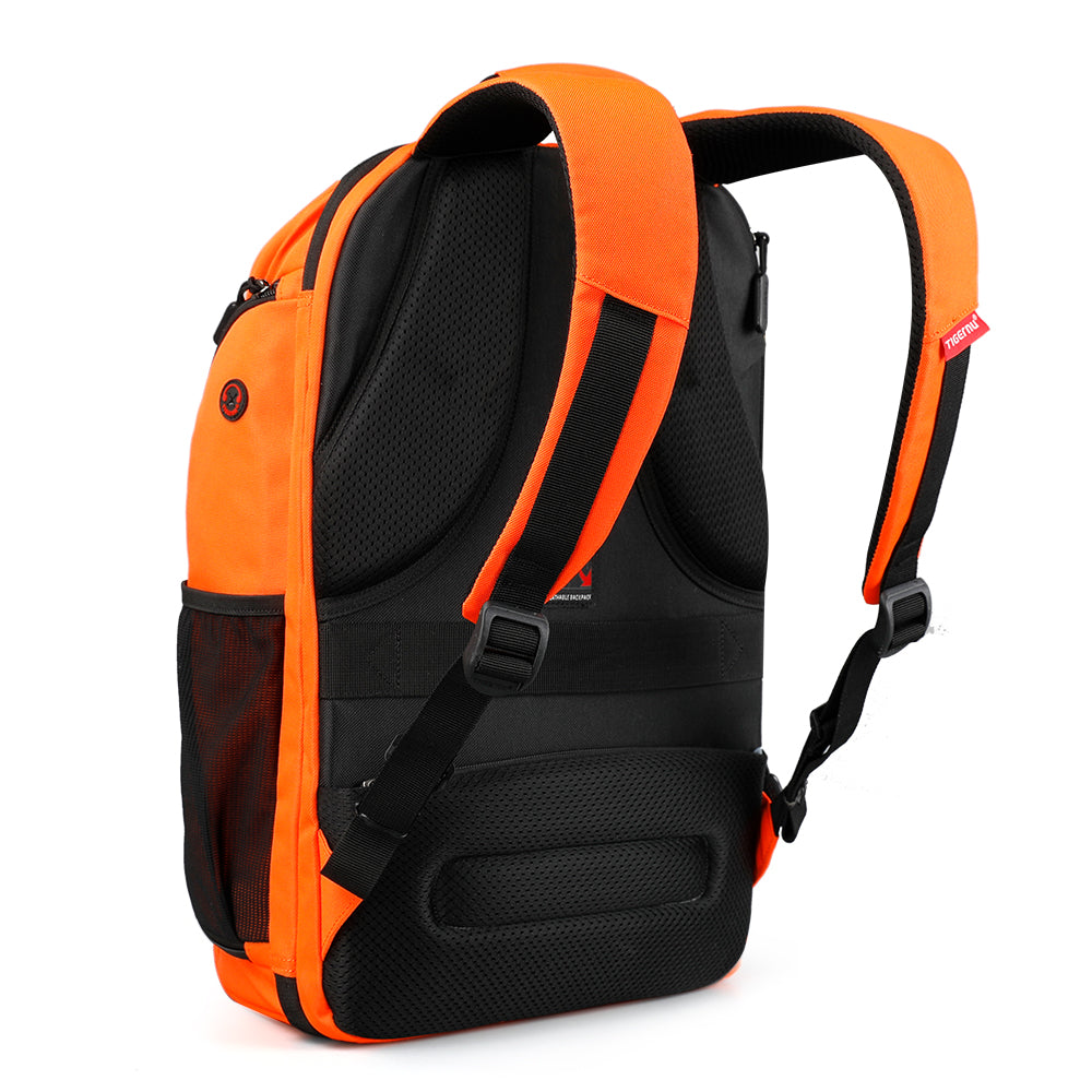 TSA ready Flame Resistant Backpack Rear Angle