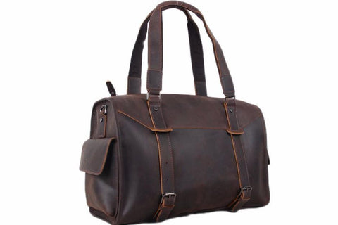 EXTRA LARGE GENUINE LEATHER TRAVEL BAG, MEN DUFFLE BAG, TRAVELLING TOTE BAG
