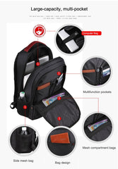 URBAN PRO PACK Laptop Backpack Anti-theft Waterproof Nylon Tigernu - itechitrek