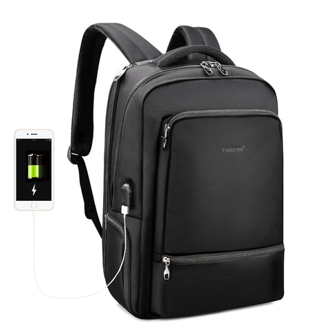 URBAN GIANT - Large capacity backpack & laptop USB bag