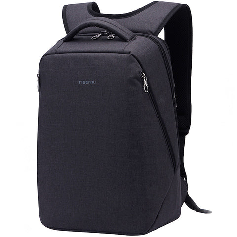 SLEEK DESIGN -  Multi pocket laptop bag with Anti-thefy zipper - itechitrek