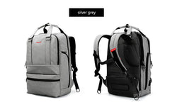 Multi pocket Laptop Backpack with External USB Charging port waterproof and scratch resistant