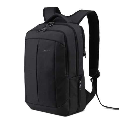 SQUARE SUCCESS - Bold square laptop bag with anti-theft zipper - itechitrek