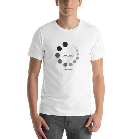Itech Itrek - LOADING Short-Sleeve Unisex T-Shirt