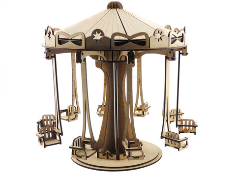 Circus Carousel with Moving Parts - The Australian Puzzle Company