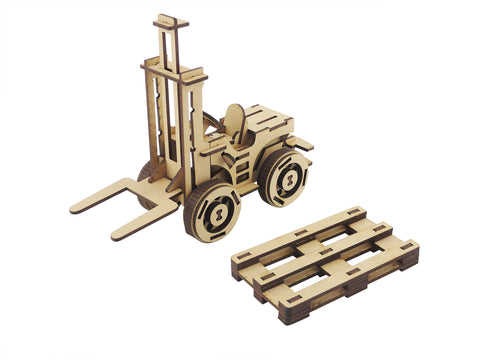 Forklift & Pallet - The Australian Puzzle Company