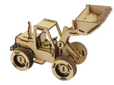 Front End Loader- With Moving Parts - The Australian Puzzle Company