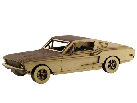 68 Ford Mustang - The Australian Puzzle Company