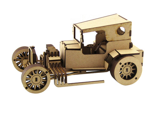 """kookie"" Hot Rod - The Australian Puzzle Company"