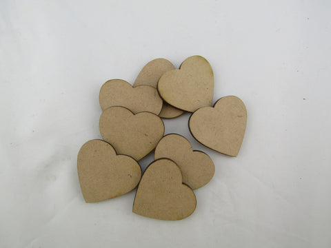 MDF Hearts without holes - The Australian Puzzle Company
