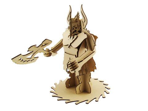 Dwarf Warrior - The Australian Puzzle Company