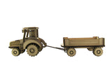 Farm Tractor and Trailer