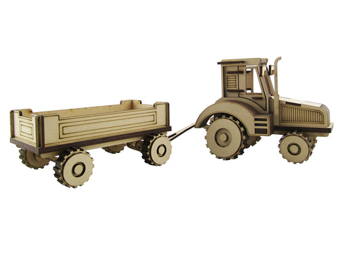 Farm Tractor and Trailer - The Australian Puzzle Company