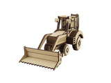 Back Hoe Loader - The Australian Puzzle Company