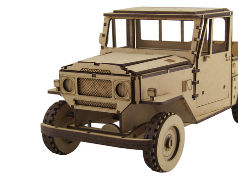 FJ40 Land Cruiser - The Australian Puzzle Company