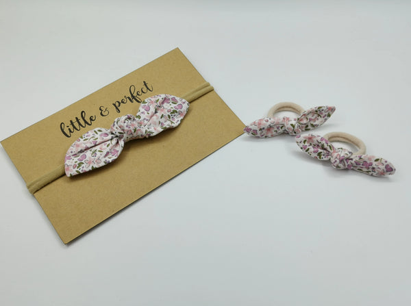 Floral Knot-bow Set