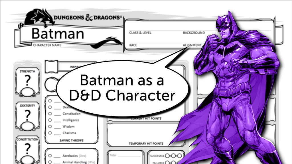 Building Batman as a 5e D&D Character