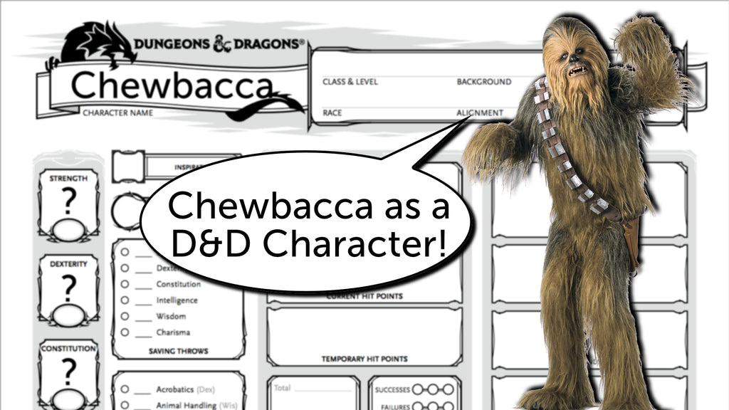Building Chewbacca as a D&D 5e Character