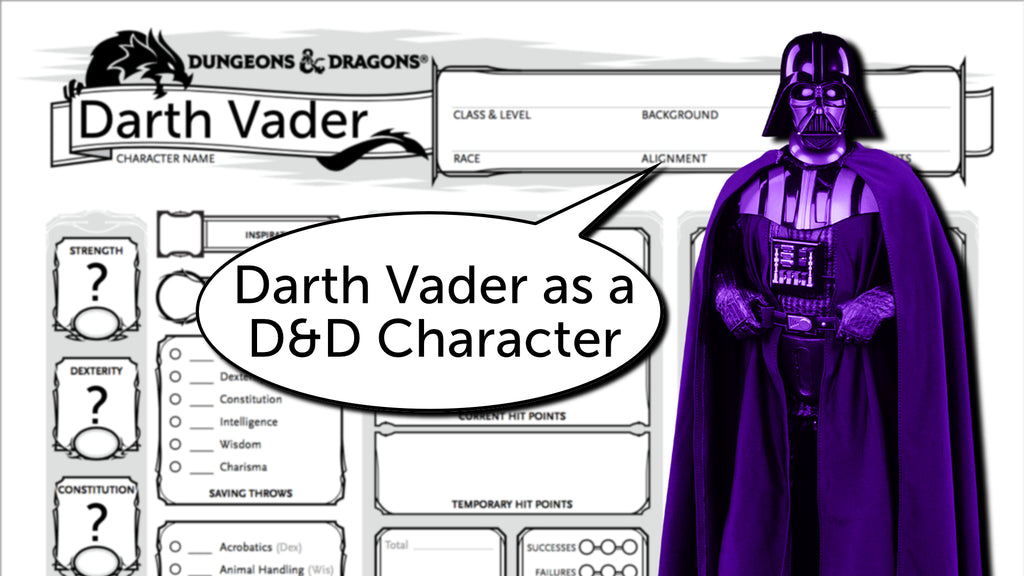 Building Darth Vader as a D&D 5e Character