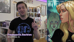 Witchblade #1 Freakopolis Review