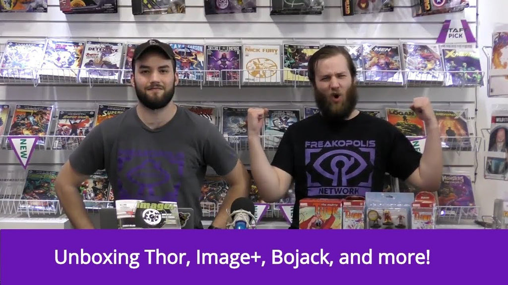 Episode 45 - The Good, The Bad, and The Freaky (Heroclix Unboxing and more!)