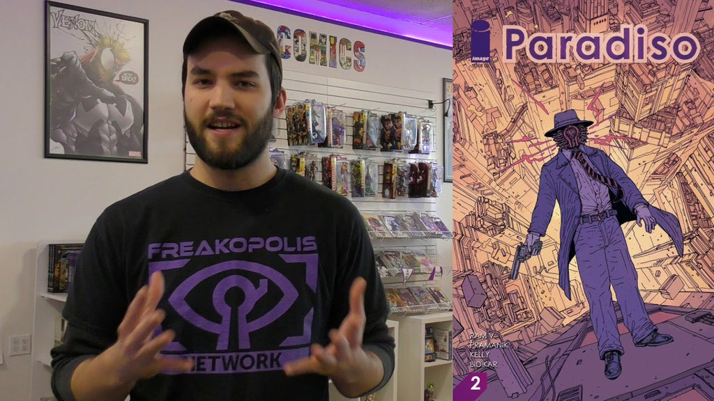 Paradiso #2 - Freakopolis Review