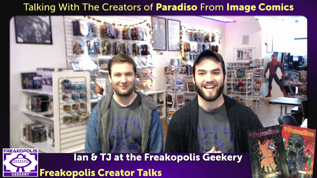 Paradiso Creators Ram V. And Dev P. - Freakopolis Creator Talks