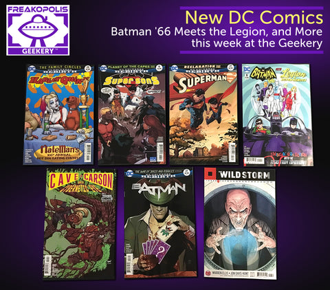 New DC Comic Books 7/19
