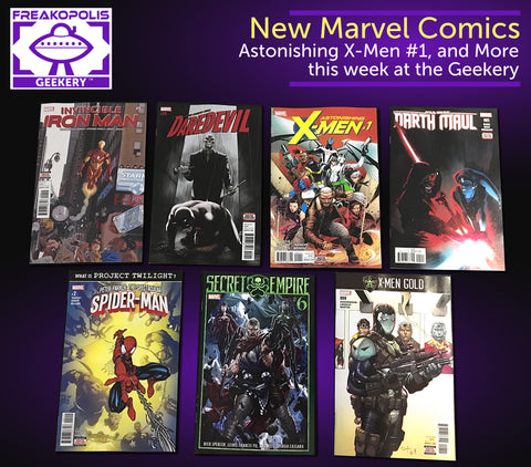 New Marvel Comics 7/19