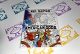 American Gods Coloring Book Cover
