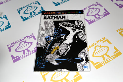 Batman Hush Vol. 1 Coloring Book Cover