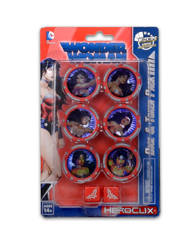 DC HeroClix: Wonder Woman Dice & Token Pack
