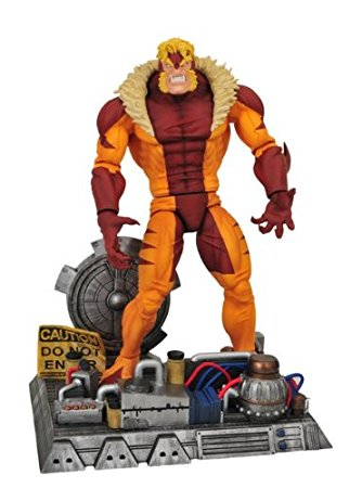 Sabertooth Diamond Select Action Figure (Posed)