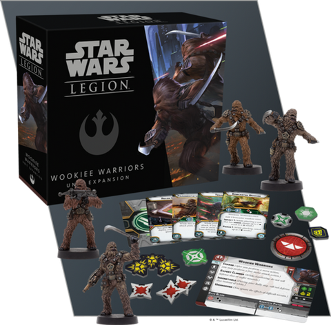 Wookie Warriors Unit Expansion
