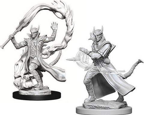 Dungeons & Dragons Nolzur`s Marvelous Unpainted Miniatures: W4 Tiefling Male Sorcerer