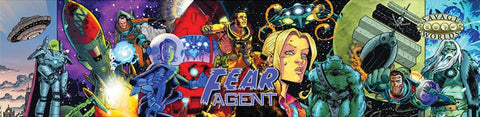 Savage Worlds RPG: Fear Agent - GM Screen with Adventure