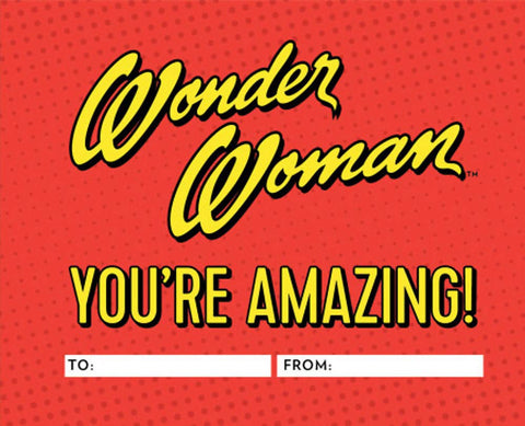 Wonder Woman You're Amazing - A Fill In Book