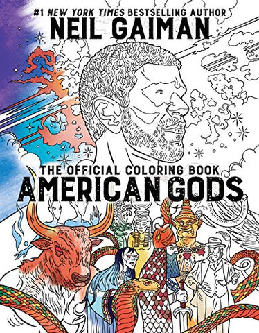 American Gods Official Coloring Book