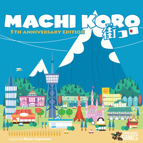 Machi Koro: 5th Anniversary Edition (w/ bonus playmat)