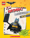 Lego I'm Batman Activity Book with Stickers