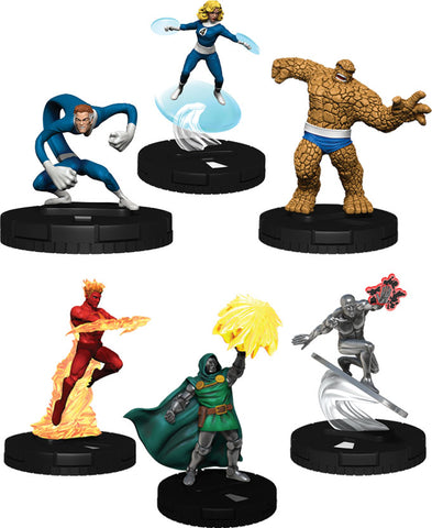Marvel HeroClix: Fantastic Four Cosmic Clash Starter Set (6-Figure Starter Set)
