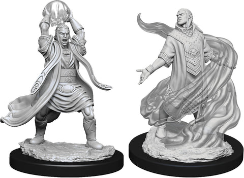 Dungeons & Dragons Nolzur`s Marvelous Unpainted Miniatures: W11 Male Elf Sorcerer