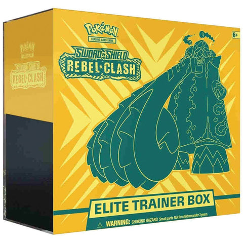 Pokemon TCG: Sword & Shield - Rebel Clash Elite Trainer Box